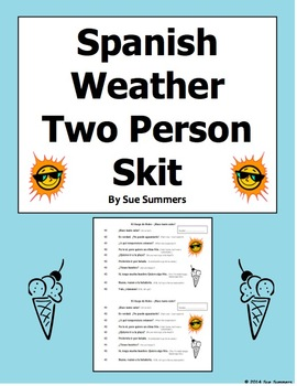 Types Of Weather In Spanish