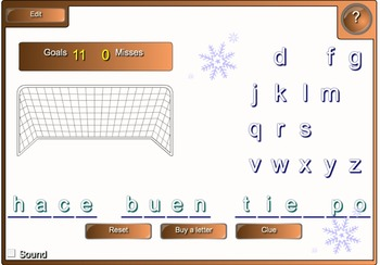 Spanish Weather Smart Board 9 Games and Activities