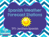Spanish Weather Tiempo Clima Forecast Stations