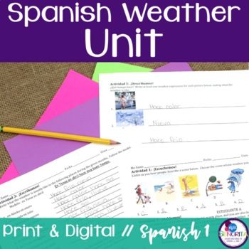 Spanish Weather Unit