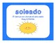 Spanish Weather Vocabulary / El estado del tiempo vocabulario en español