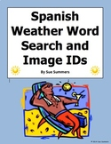 Spanish Weather Word Search Puzzle and Vocabulary - El Tiempo