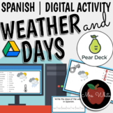 Spanish Weather and Days of the Week | Pear Deck Activity