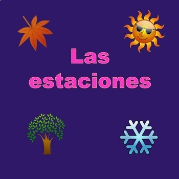 Spanish Weather el tiempo Power Point and Curriculum