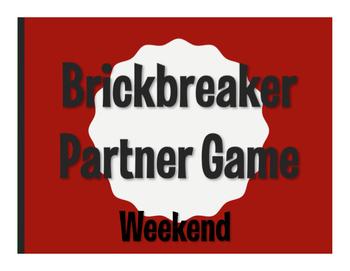 Spanish Weekend Brickbreaker Game