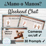 Spanish Preterite Activity | Weekend Chat Mano o Manos