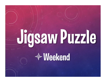 Spanish Weekend Jigsaw Puzzle