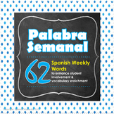 Spanish Weekly Word - ¡Palabra Semanal!