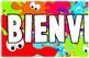 Spanish Welcome Banner BIENVENIDOS Classroom Decoration Border