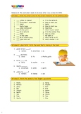 Spanish What is your name worksheet from Kids' Club