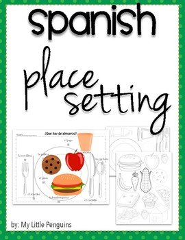 Spanish, What's for lunch?