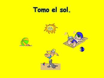 Spanish Teaching Resources. Holiday/ Vacation Activities Powerpoint Presentation