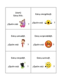 """Spanish """"Who Has"""" Card Activity: Emotions"""