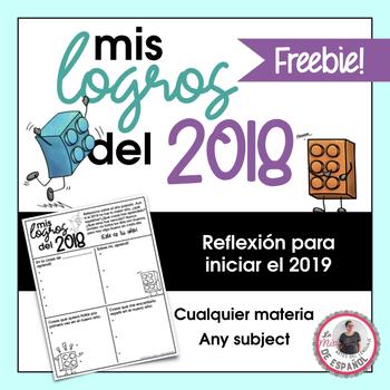 Spanish Last Year Reflection | Reflexión Año 2018 hacia el 2019