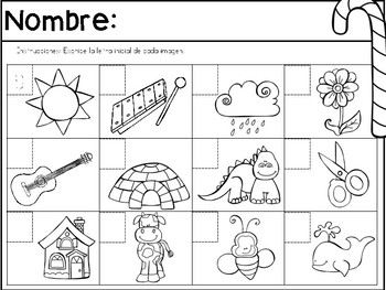 Spanish Winter Homework Packet (PK-K)