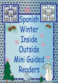 Spanish Winter Inside Outside Mini Readers