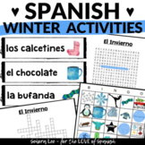 Spanish Winter Activities BUNDLE