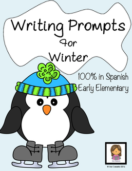 Spanish Winter Invierno Writing Prompts