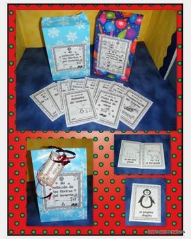 Spanish Winter Mini Guided Reading Books