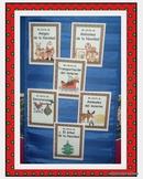Spanish Winter Mini Guided Reading Books Colored