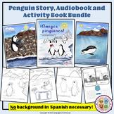 Spanish Winter Penguin Mini Bundle: Story, Audiobook, and