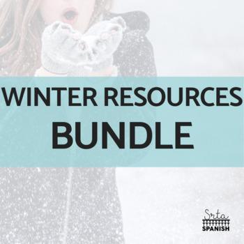 Spanish Winter Resources BUNDLE