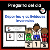Spanish: Winter Sports and Activities: Question of the Day