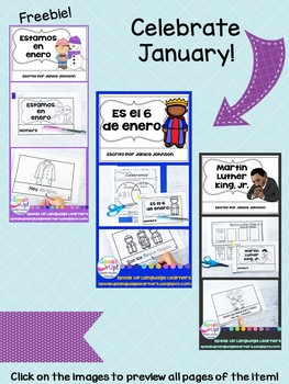 Spanish Winter {el invierno} Resource Catalog ~ para la clase de español