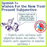 Spanish - Wishes for the New Year with Present Subjunctive