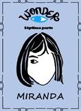 Spanish Wonder Book Study-La leccion de August-Miranda