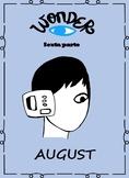 Spanish Wonder Book Study-La leccion de August -Sexta parte