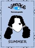 Spanish Wonder Book Study-La leccion de August -Summer