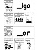 Spanish Word Family Booklets - Interactive Notebook