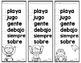 Spanish Word Lists