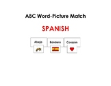 Spanish Word-Picture Matching Game