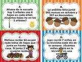 Spanish Word Problem Scoot