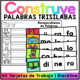Spanish Word Puzzles -Trisílabas