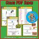Spanish Word Puzzles for Irregular YO GO Verbs. Juego de Verbos