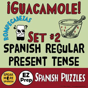 Spanish Word Scrambles. More Regular Present Verbs. Presente de Verbos Regulares