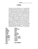 Spanish Word Search - 3.1 Avancemos, Basic Foods