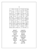 Spanish Word Search Books for Adults Large Print