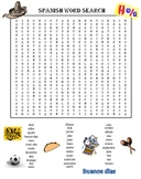Spanish Word Search Puzzle