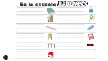 Spanish Word Search Set 1