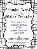 Spanish Word Sorts: Sílabas Trabadas (Blends)
