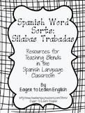 Spanish Word Sorts: Sílabas Trabadas (Blends)