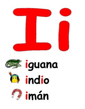 Spanish Word Wall