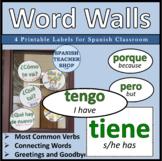 Spanish Word Wall Bulletin Board