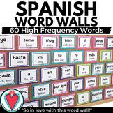 Spanish Classroom Decor - Basic Spanish Vocabulary Words -