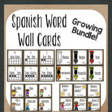 Spanish Word Wall {Growing Bundle}