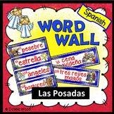 Las Posadas Spanish Word Wall